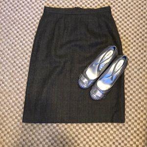 Harold's wool/alpaca pencil skirt